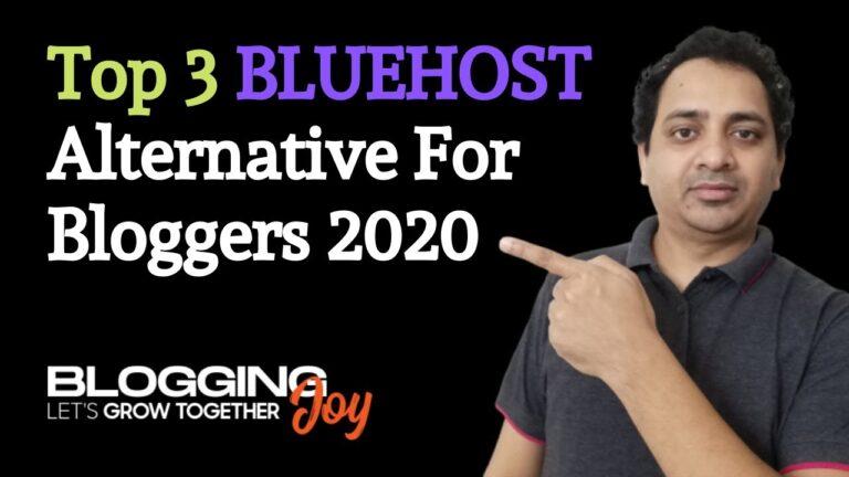 Bluehost Alternatives for 2020    Best WordPress Hosting    Better speed, support, security, affordable