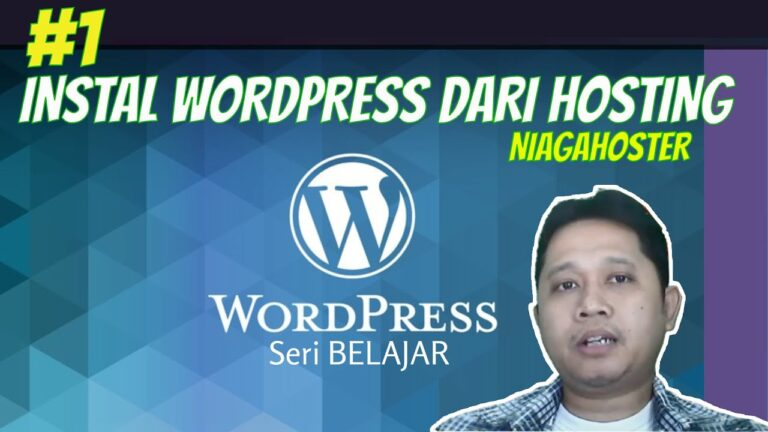 # 1 Installing WordPress on niagahoster hosting