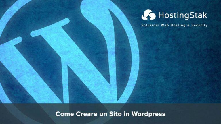 How to create a WordPress website [WordPress Hosting]