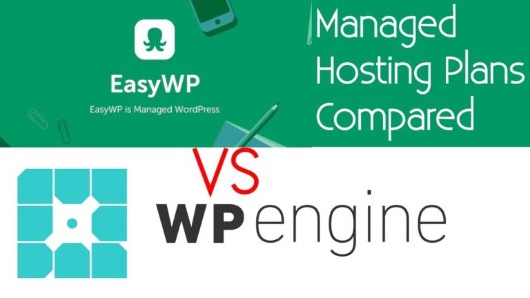 WP Engine vs EasyWP by Namecheap Managed WordPress Hosting Services compared to 2020
