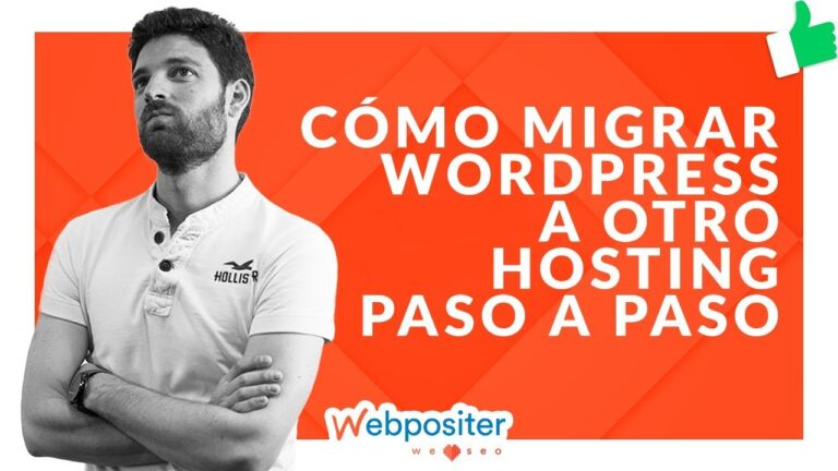 How to MIGRATE WORDPRESS to another HOSTING [Guía Paso a Paso]