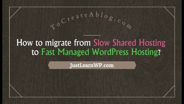 How to Migrate from Slow Shared Hosting to Easywp – Quickly Managed WordPress Hosting by NameCheap