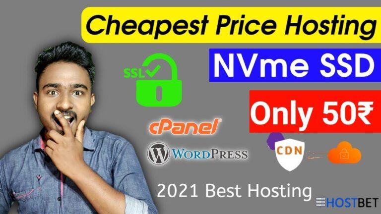 Cheapest web hosting 2021    Free cpanel hosting, WordPress, Cloud based services    hostbet
