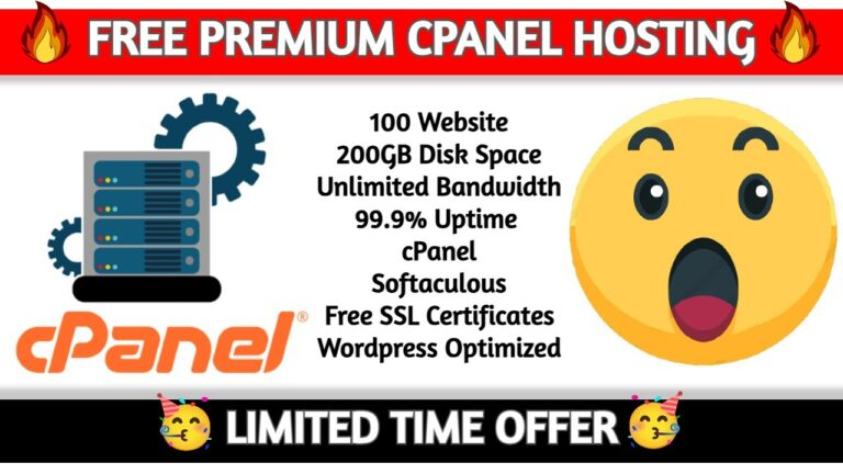 🔥 Cpanel Premium hosting free for 1 month ||  Free Cpanel Hosting ||  Free hosting with Cpanel🔥