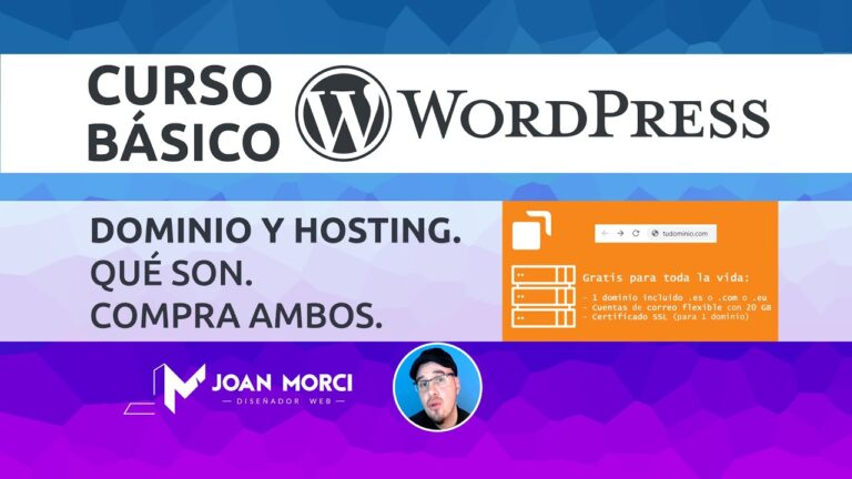 # 3 Domain and Hosting.  What are they.  Buy both – BASIC COURSE WORDPRESS