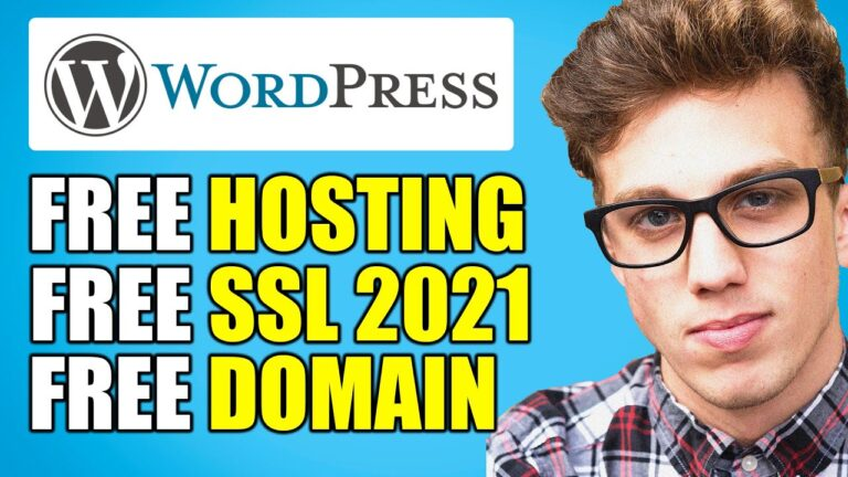 FREE WordPress Hosting for Life and FREE Domain Tutorial (Unlimited with SSL)