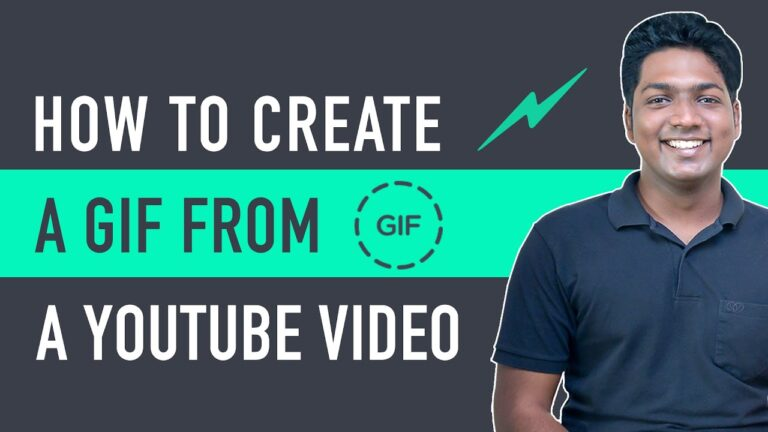 How to create a GIF from a YouTube video »Useful Wiki In just 60 seconds
