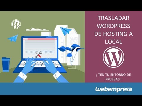 Move WordPress from hosting to local with Xampp.