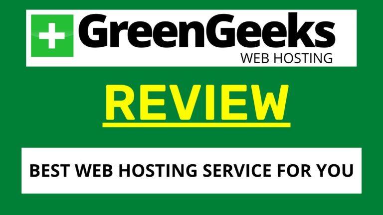 GreenGeeks Review |  Best web hosting 2021 |  WordPress Hosting
