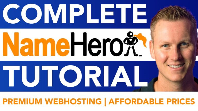 Full NameHero Tutorial |  WordPress 2021 web hosting