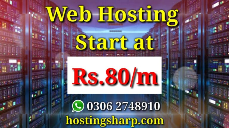 Cheap web hosting    Best web hosting in Pakistan    WordPress Hosting    Sharp Hosting