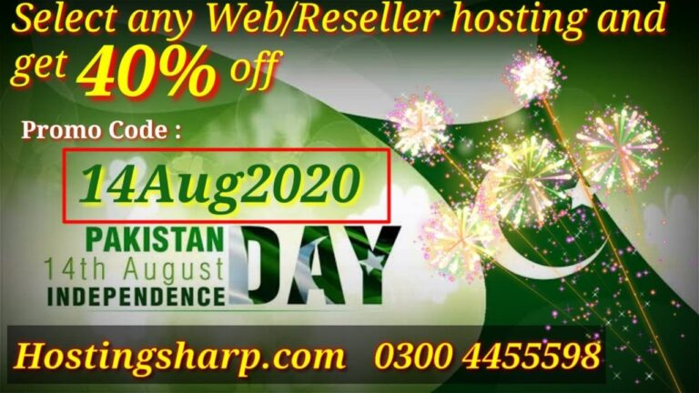 Web Hosting Discount Offer |  hosting wordpress 40% discount |  Discount offer August 14