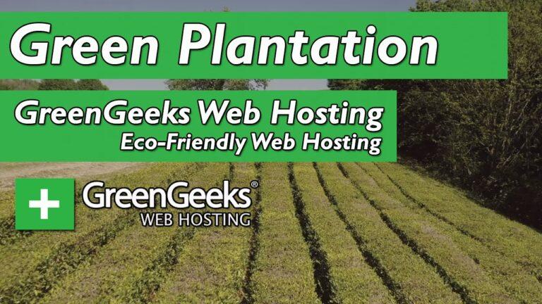 GreenGeeks web hosting – Green Plantation ||  Green web hosting