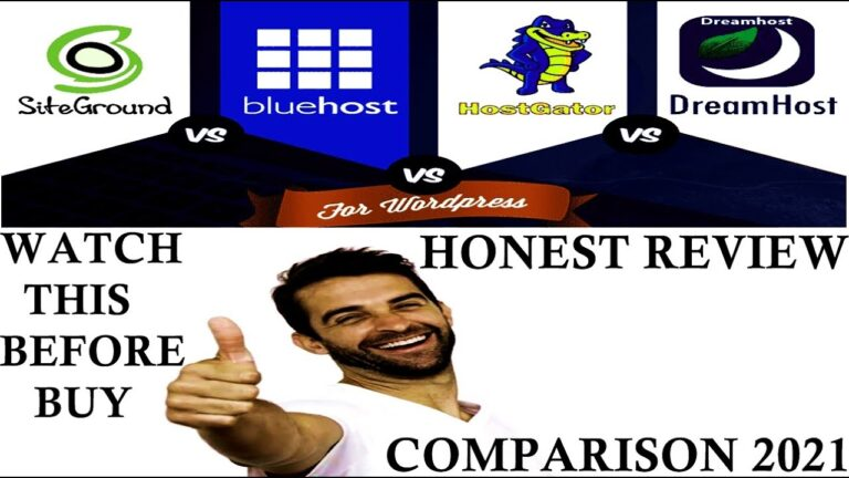 Best Shared WordPress Hosts 2021 – Honest Review and Comparison of the 3 Best Shared WordPress Hosts.