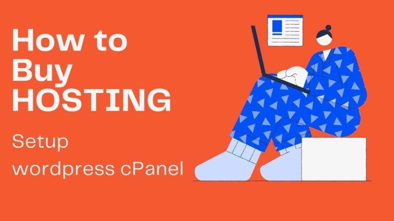 How to buy shared hosting |  Install the WordPress website on Namecheap cPanel