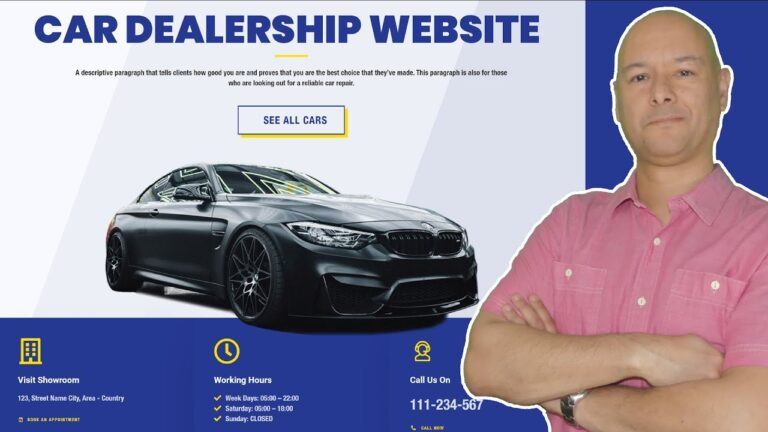 How To Make A Car Dealership Website »Useful Wiki With WordPress – 2021
