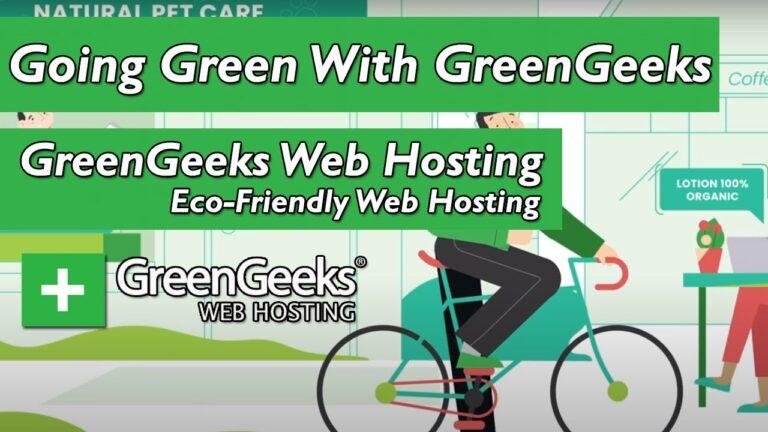 Go green with GreenGeeks web hosting ||  Green green web hosting