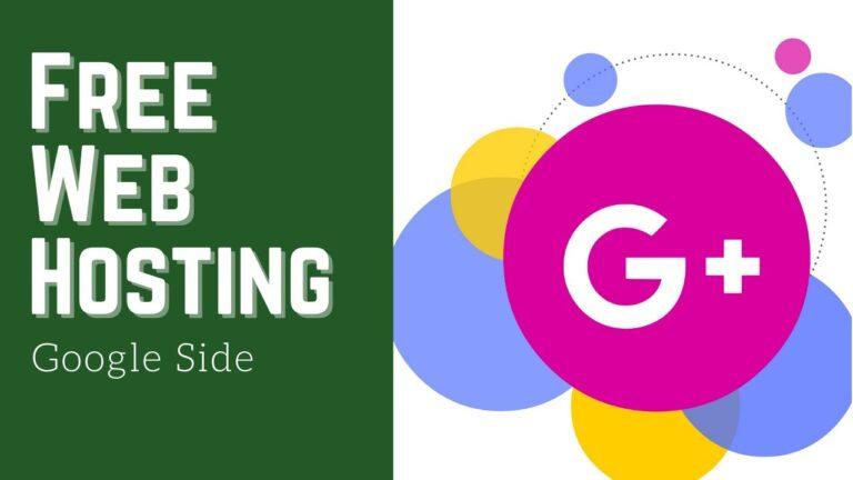 Free web hosting |  Free Google Cloud Hosting |  g suite web hosting |