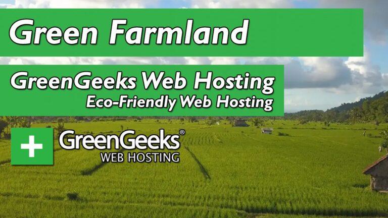 GreenGeeks web hosting – Green Farmland ||  Green web hosting