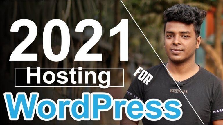 7 Best WordPress Hosting in 2021 🔥