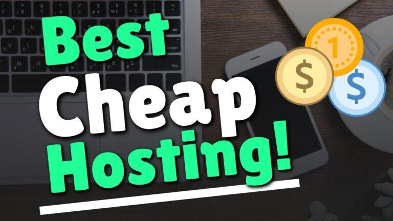 Inexpensive web hosting: low-priced WordPress hosting comparison