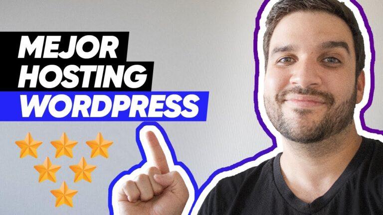 Best WordPress Hosting 2020 [Con dominio gratis]