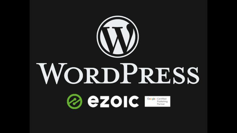 Setting up Ezoic's free WordPress hosting for an existing WP site