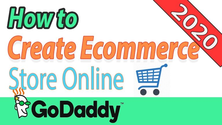 How To Create An Online Ecommerce Store On Godaddy WordPress Managed Hosting For Beginners