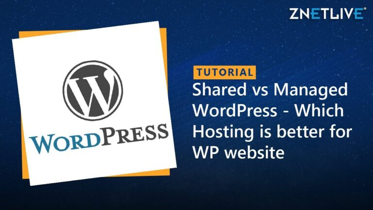 Shared Hosting vs. Managed WordPress Hosting: Which One Is Better For Your WordPress Website?