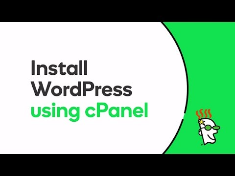 Install WordPress using cPanel |  Go daddy