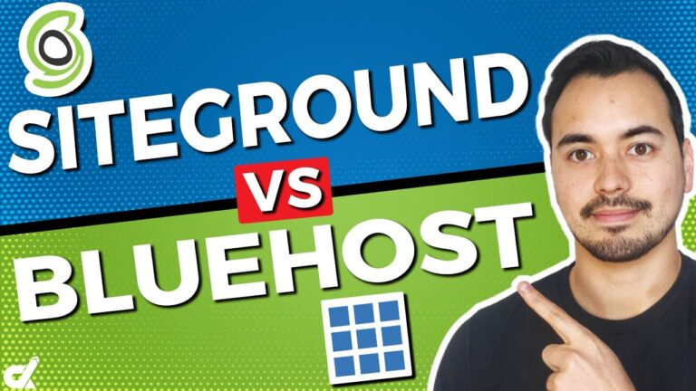Siteground vs Bluehost WordPress Hosting 🔥 Who is the best web host?  (My recomendation)