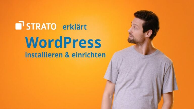Install and configure STRATO WordPress Hosting