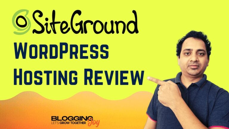 SiteGround WordPress Hosting Review 2020 |  Best for speed, security, support (pros and cons)