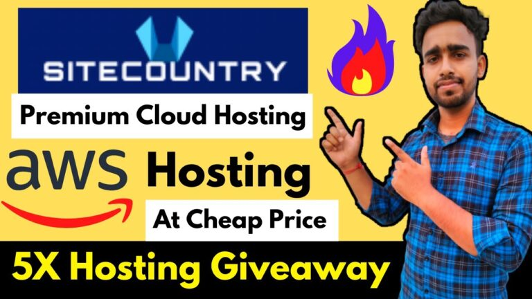 Premium AWS Cloud Hosting at an Affordable Price – 5x Hosting Giveaway Join Now