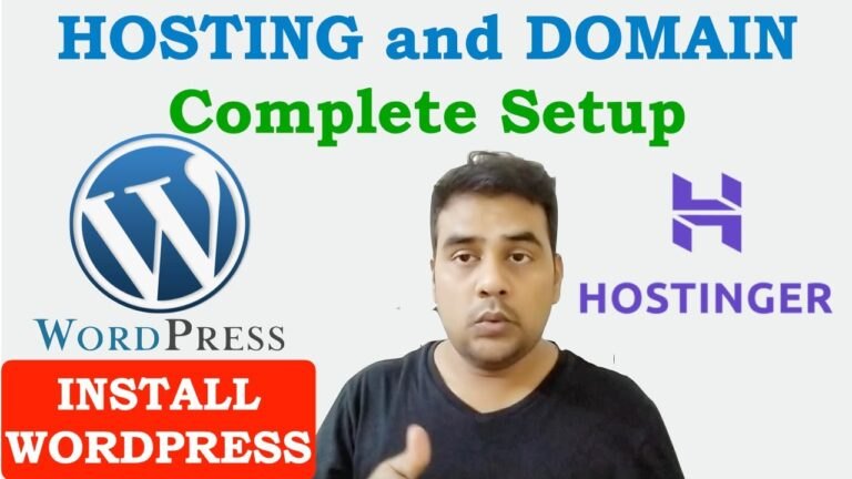 Complete tutorial on how to configure the hosting and domain »Useful Wiki Install WordPress in Hostinger Hosting panel h