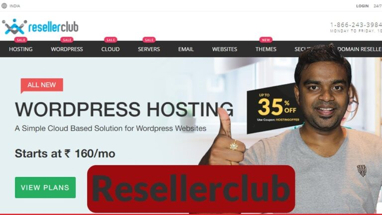 Cheap WordPress Hosting: How To Select The Best WordPress Hosting In India – ResellerClub