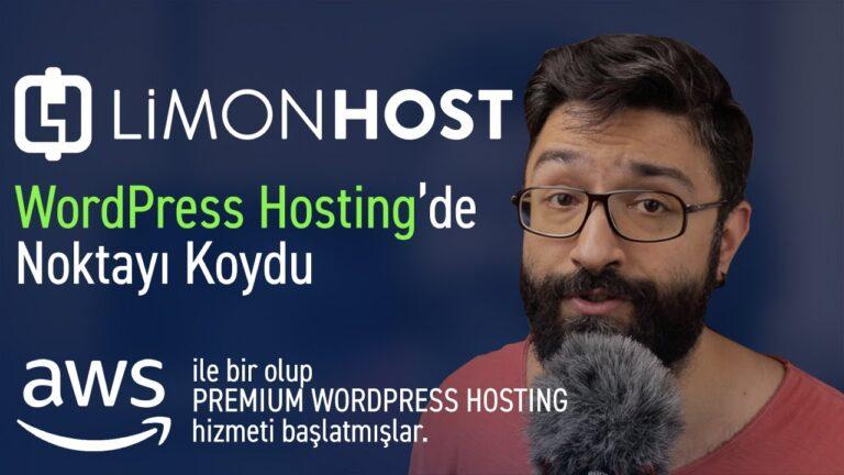Limonhost's Premium AWS WordPress hosting package at WordPress Hosting looks like a mess!