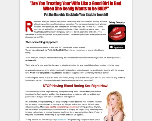 Frisky Foreplay Games for Couples