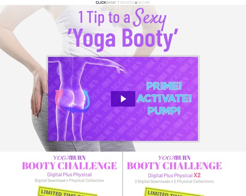 Yoga Booty Challenge